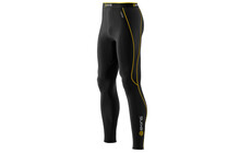 Skins A200 Men's Thermal Compression Long Tights black/yellow
